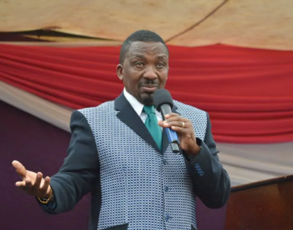 Mazmatics Manenos! Pastor Ng'ang'a claims people are always wowed by his handsomeness when they meet him