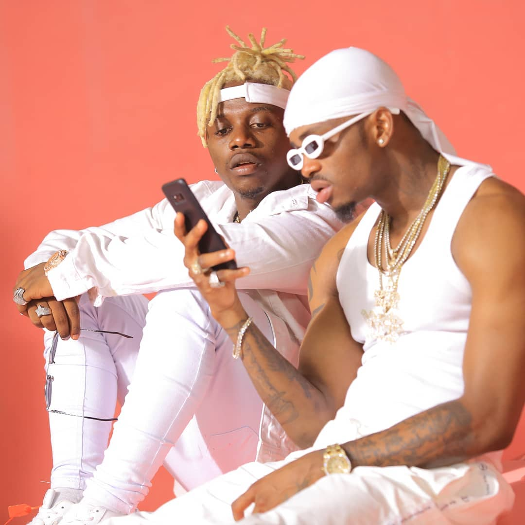 """Uoe sasa kwa sababu tumechoka!"" Rayvanny pleads with Diamond Platnumz to finally settle down"