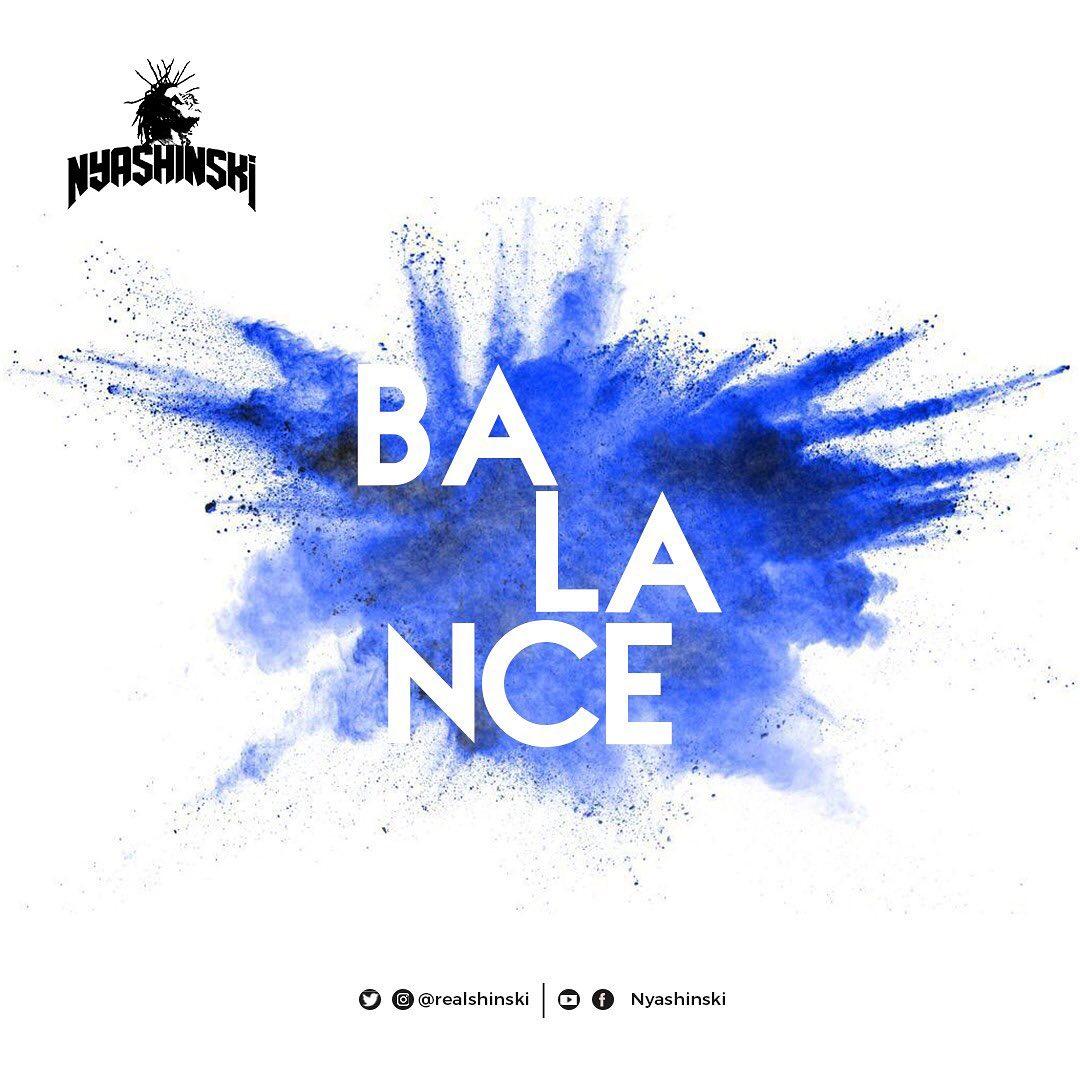 Nyashinski is back with a new single dubbed 'Balance'
