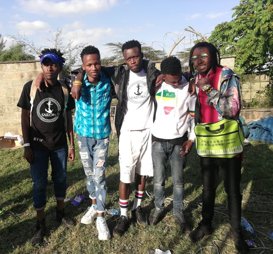 Sailors gang Kenyans for Kenyan Music