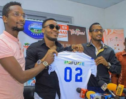 Ali Kiba explains ditching music for football