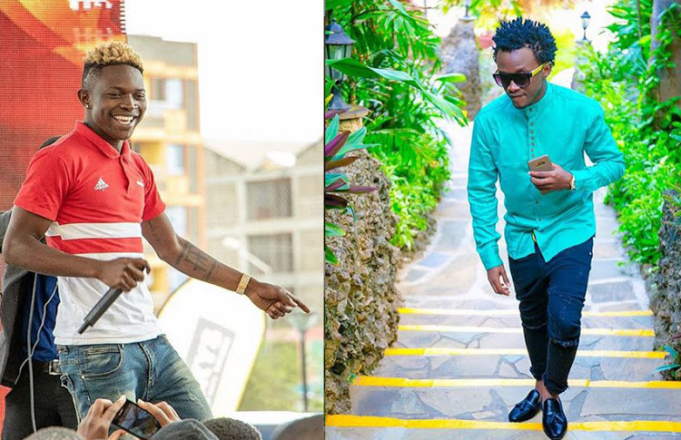 """Congratulations to Bahati. I love that guy so much"" Mr Seed proves he holds no grudges"