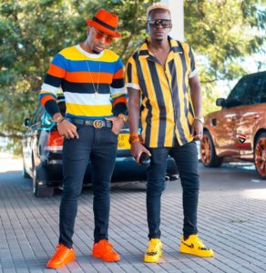Ommy Dimpoz and Willy Paul