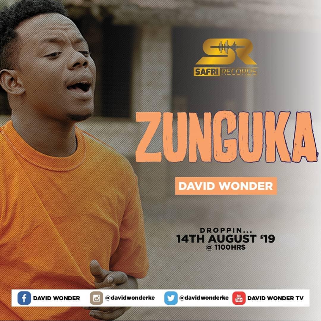 David Wonder has a new jam Zunguka