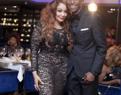 Zari Hassan giving many men a hard-time after leaving  no room for imagination with her see through dress!