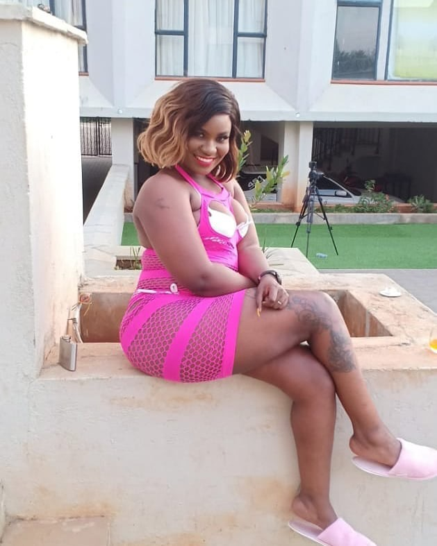 """""""I never dated Libinus Oduori!"""" Mishi Dora unapologetic after laughing off at the now crippled Kakamega MCA who tried to kill her"""