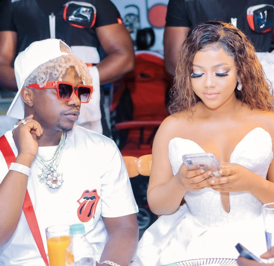 Drama! Rayvanny accused of cheating on his baby mama with
