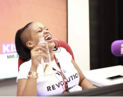 Kamene Goro finally reveals whether or not she is smashing radio presenter Andrew Kibe