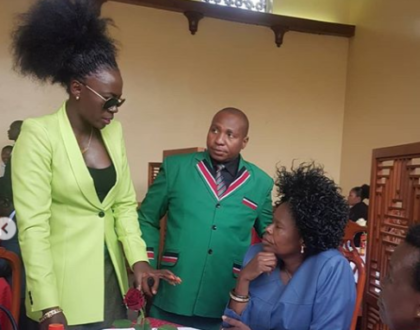 Akothee's statement after being forced to borrow leso to enter parliament