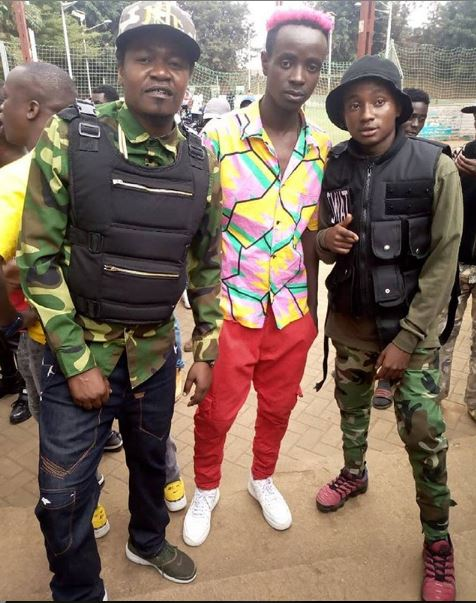 Jua Cali with Odi Wa Murang'a and Swat Mtoto Wa Eunice