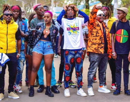 Femi One has teamed up with Boondocks Gang, Mbithi and DJ Lyta on 'Nyoko Nyoko' and it's too lit (Video)