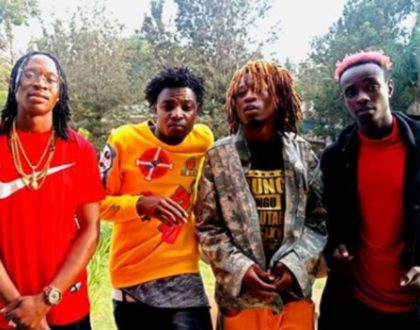 Boondocks Gang's Ex Ray has teamed up with Kawangware Kings on 'Raru' and it slaps hard (Video)