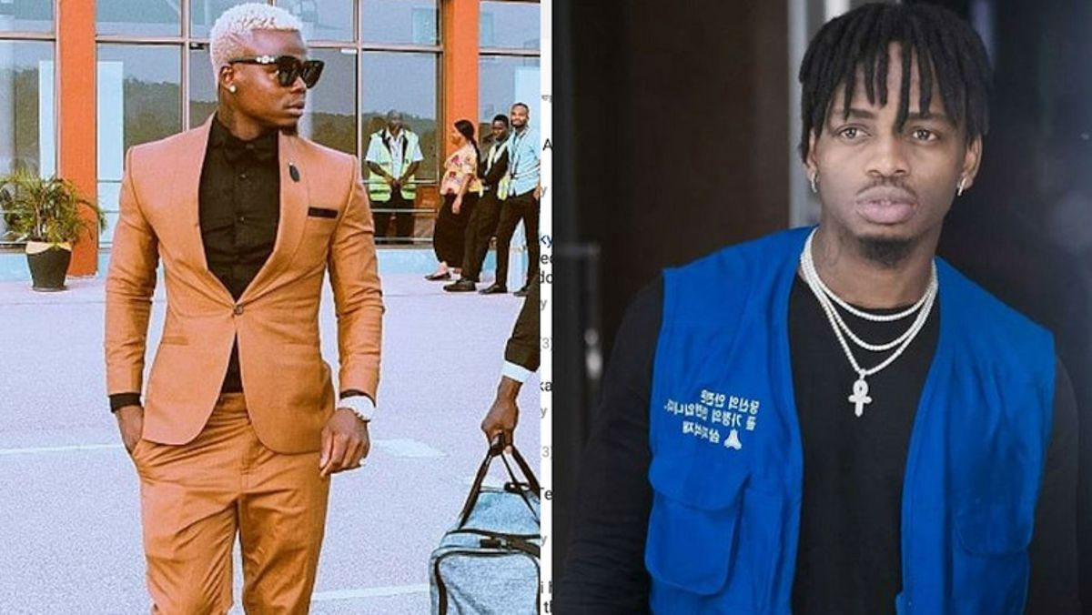 Diamond shocked after fans mocked him by shouting 'Konde'