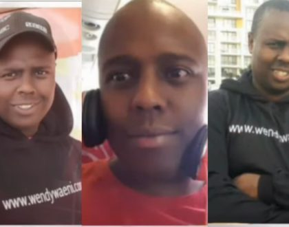 Wendy's former manager, Joe Mwangi spends 5 days locked up