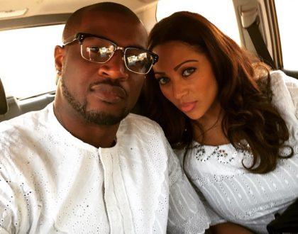 Peter Okoye's wife finally responds to word that Zari had been sleeping her man