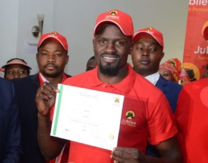 He has never voted in his life! Shock as Mariga is disqualified from Kibra By-election