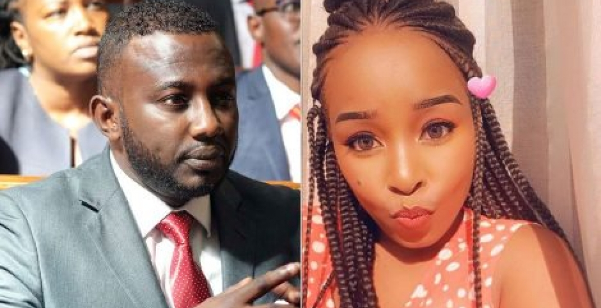 Iliweza! Saumu's response after a woman alleged to be carrying Senator Anwar's pregnancy