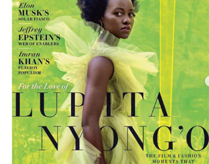 She did it again! Lupita Nyong'o stuns as Vanity Fair's cover girl model [photoshoot]
