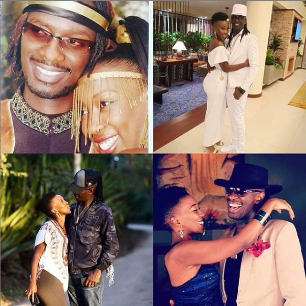 "Aww! ""My ride or Die"" Wahu and Nameless splash each other with buckets of love on their 14th wedding anniversary [photos]"