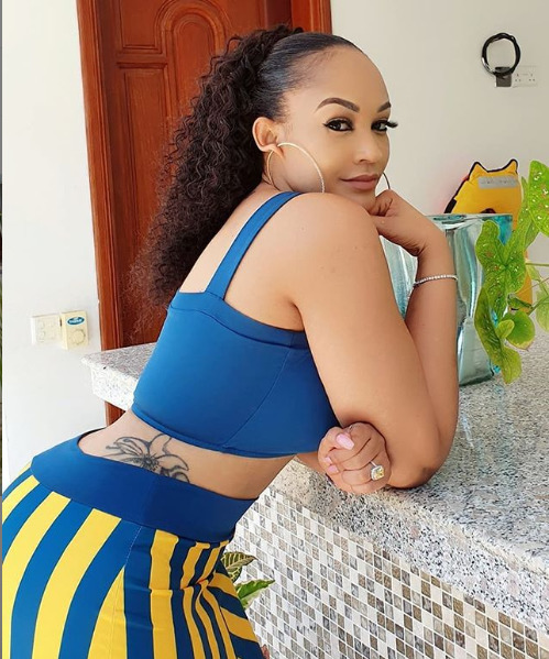 Call for alarm? Zari lands in Tanzania just days to Tanasha's delivery, Diamond grows cold feet [videos]
