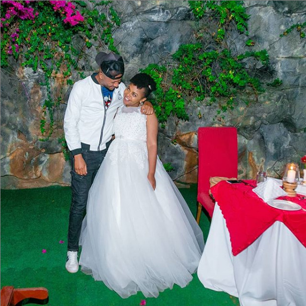 Watch: Size 8 and DJ Mo colorfully mark 6 years since tying the knot