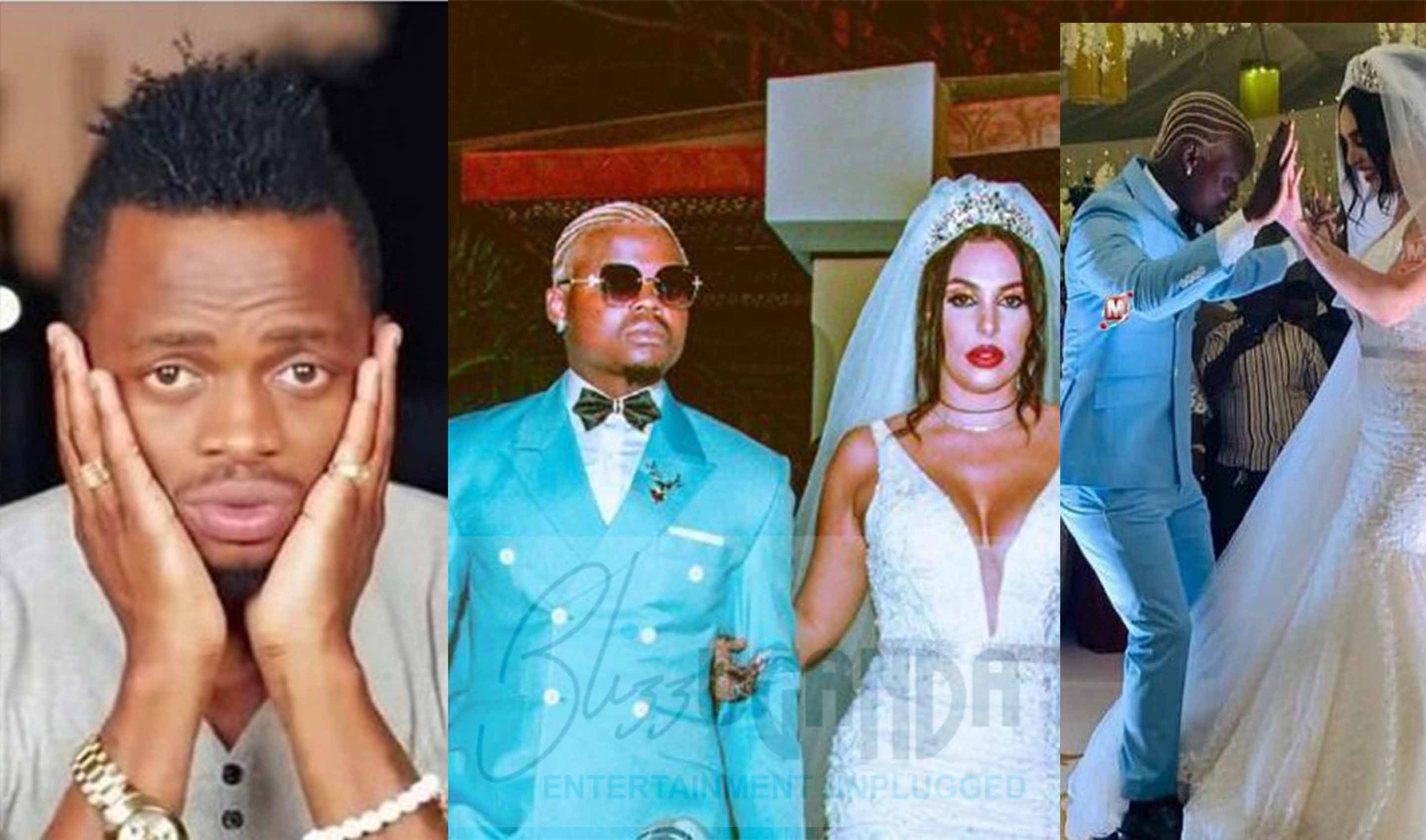 Is this why Diamond failed to show up at Harmonize's wedding?