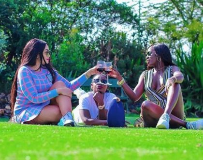 This is how Akothee has proved she's still BFF with Zari and they don't have Beef