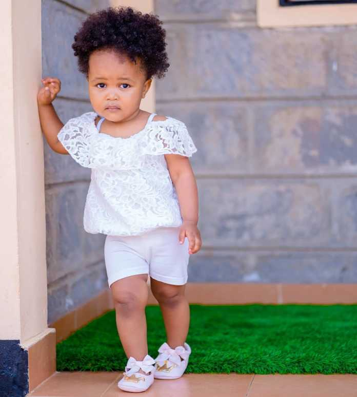 We sema tu hakuna kazi! Bahati's months old daughter lands a new job