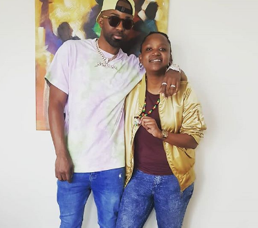 Jamaican singer Konshens lands in Nairobi and ladies including Fena Gitu can't keep calm