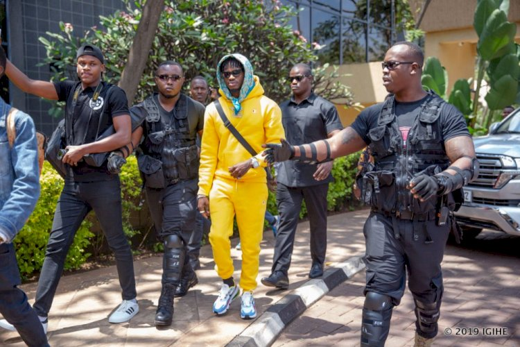 Well played! Diamond Platnumz goes big after storming Tanzania with heavy security [video]