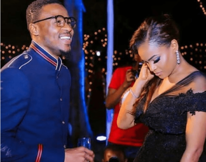 Alikiba proves that he is still in love with his Kenyan wife, Amina Khalef