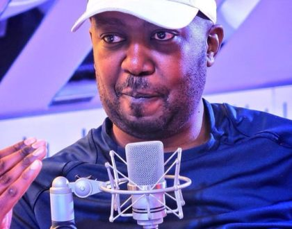 """People thought I was jobless and ran away from me for 3 months, now they want to come back?"" KISS 100's Kibe tells off fake friends"