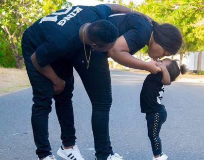 Diamond Platnumz dancer Mose Iyobo finally reconciles with his baby mama