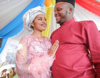 Jalang'o weds the love of his life at a low key wedding ceremony