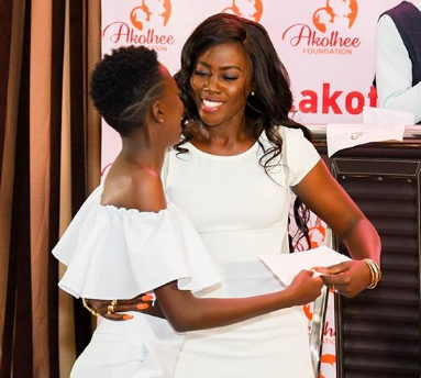 Akothee's daughter 'secretly' competing in Miss Universe Kenya