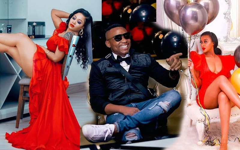 Trouble in paradise after Otile showers Vera with love on her birthday and ignores Nabayet's