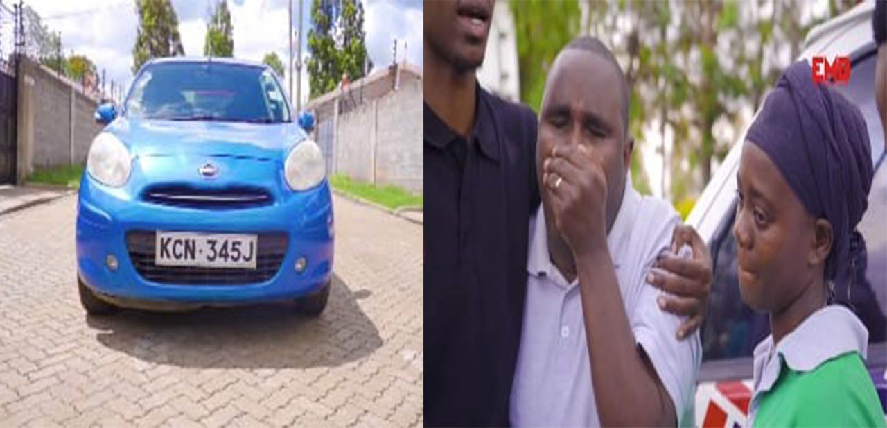 Tear-jerking event as The Bahatis gift Denno his own car [video]