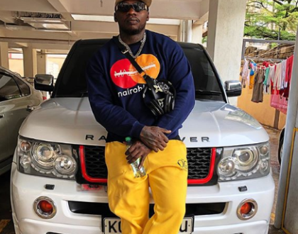 The OG was not respected! Khaligraph Jones loses chain worth 60K to crowd