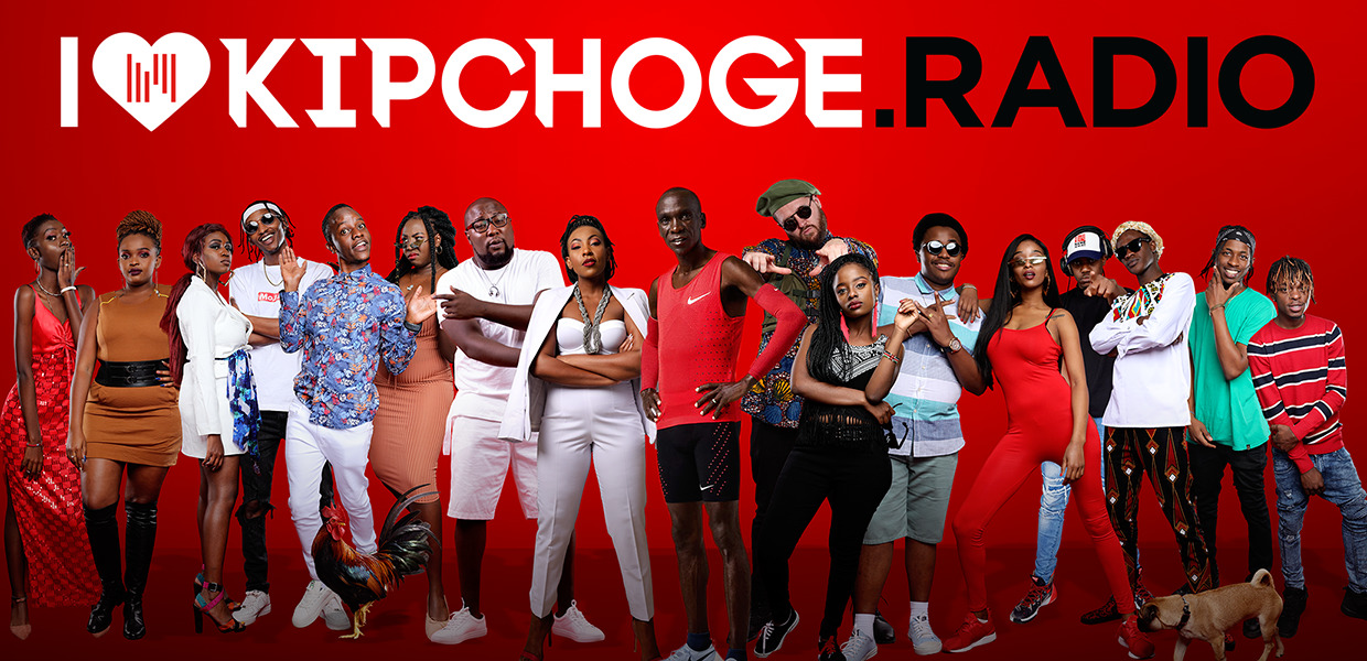 ¨All systems go in celebration of his milestone¨ NRG radio re-brands to 'Kipchoge Radio' to honor the world record holder
