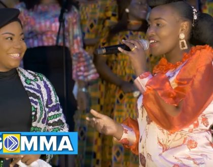 "Mercylinah and Mercy Chinwo make it a church affair as they team up for ""Mungu kama wewe""(video)"
