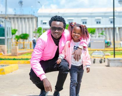 ¨You mean Alot to me¨ Bahati emotionally expresses his undying love for daughter, Mueni Bahati