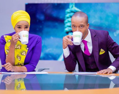 It is in order! TV power couple, Lulu Hassan and Rashid Abdalla stun in teenage outfits [photo]