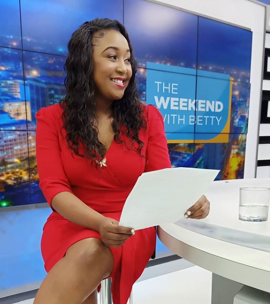 """""""From one dreamer to another"""" fan single-handedly pens a letter to Betty Kyallo in admiration [photo]"""