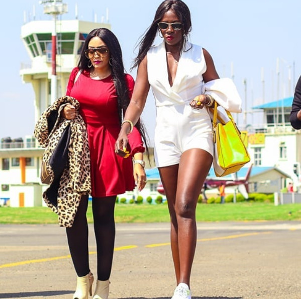 The costs Akothee and Zari have to bear to see their children meet up