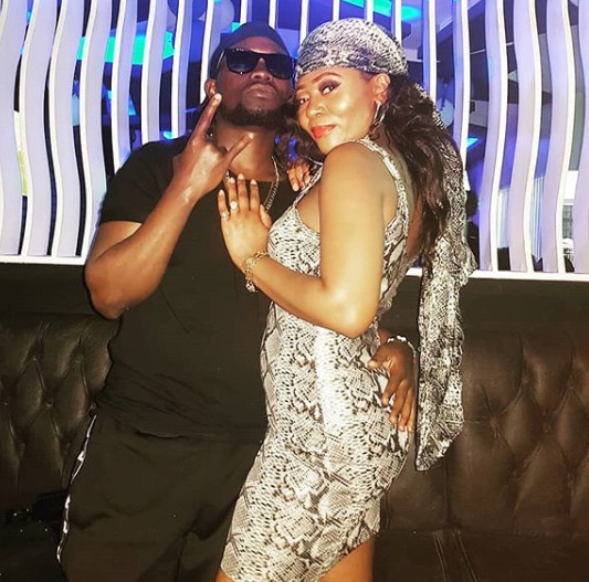 """We got each other and God gat us"" Sosuun pens in a never seen before photo with hubby, Kenrazy"