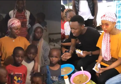 Tracing humble beginnings! How Huddah Monroe´s birthday went down in Mathare slums [videos]