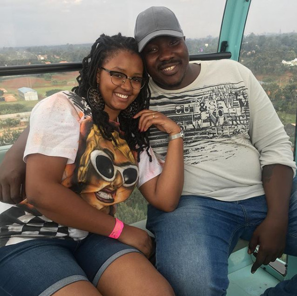 ¨When we're together, he just makes me feel like his girl¨ Marya Prude pens a charming love poem to hubby, Willis Raburu