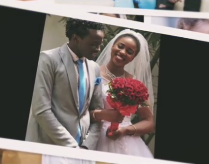 ¨For loving me unconditionally, for giving me the best¨ Diana and Bahati pour their hearts out to each other on 3rd wedding anniversary