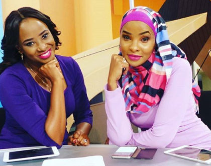 How it all started for all-time TV sisters, Lulu Hassan and Kanze Dena