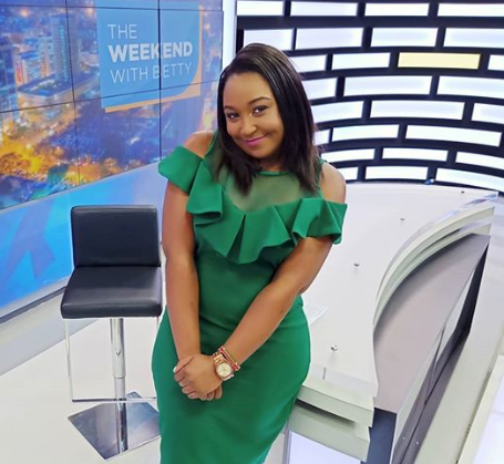 A chubby Betty Kyallo finally responds to pregnancy rumors